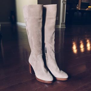 Michael Kors, tall heeled boots, size 8
